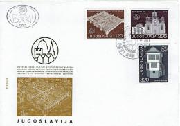 Jugoslawien / Yugoslavia - Mi-Nr 1627/1629 FDC (w706) - FDC