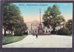 Old Post Card Of Kriegerdenkmal U.Landgericht,Güstrow, Mecklenburg-West Pomerania, Germany ,V1. - Güstrow