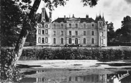 CPSM - BAUGE (49) - Aspect Du Château , Kastelo Gresillon, En 1952 - France