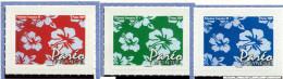 Polynésie ** N° 869 à 871 - Le Paréo - (autoadhésif)  - - Nuevos