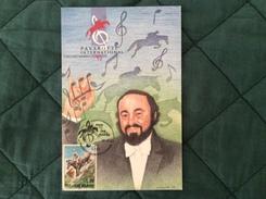 Cartolina Ufficiale III° C.S.I.O. Pavarotti International Modena 16 Settembre 1993 - San Marino