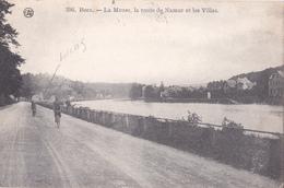 BEEZ  -  La Meuse, La Route De Namur Et Les Villas - Namur