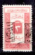 Arabia-Saudita-121 - 1925 - Tasse: Yvert & Tellier N. 35(o) - Privo Di Difetti Occulti. - Arabia Saudita