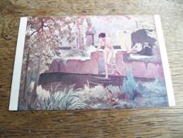 CPA D'une Baigneuse - N°5270 -  Peintre A. Faugeron - Salon De Paris - Illustrateurs & Photographes