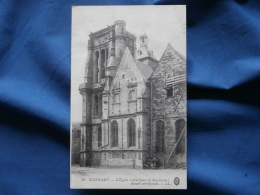 Guingamp  L'église Notre Dame De Bon Secours  Facade Méridionale  - Echafaudage - LL 39 - L278B - Guingamp