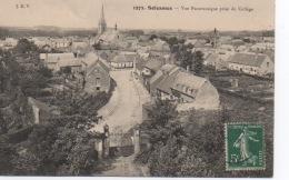 SOLESMES - Vue Panoramique Prise Du Collège - Solesmes