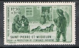 SAINT-PIERRE-ET-MIQUELON AERIEN N°1 N* - Luftpost