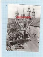 CPSM   - NAUMBURG - STEINWEG BLICK  ZUM DOM  - Auto - Naumburg (Saale)