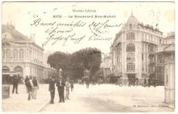 NICE   ---  Le Boulevard Mae-Mahon - Nizza