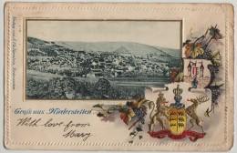 GRUSS AUS NIEDERSTETTEN, BADEN-WURTTEMBERG, 1902 - Sonstige