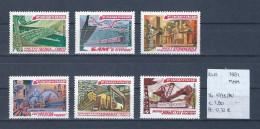 USSR 1981 - YT 4775/80 Postfris/neuf/MNH - 1923-1991 USSR
