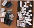 350 GR. POCHETTES HAWID SIMPLE SOUDURE FOND NOIR - TOUTES DIMENSIONS AU CHOIX. VOIR INFO- 4 SCANS - Briefmarken