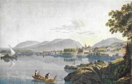 PRO JUVENTUTE-KARTE  → Ansicht Von Neuenburg Von Gabriel Lory - Lettres & Documents
