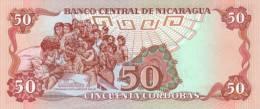 NICARAGUA P. 153 50 C 1985 UNC - Nicaragua