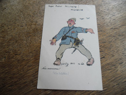 CPA Humoristique De L'illustrateur H. Loutan - Militaire, Nous Ordonnons! - Künstlerkarten