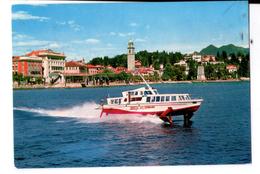 S879 Cartolina Del Piemonte - Verbania Pallanza + Freccia Del Verbano + NAVI SHIP BATEAU _ Viag. 1973 - Autres Villes