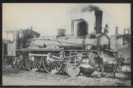 CP - Non Voyagée - Locomotive No.121 C 059 é Vapeur Saturée - Matériel