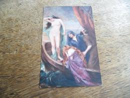 """CPA De La Légende Des Saintes-Maries De La Mer - A Legend Of The Sea"""" Par Le Peintre Consuelo Fould - Salons De Paris - Illustrateurs & Photographes"""