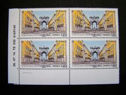 FRANCE 2016 N° 5087 EMISSION COMMUNE PORTUGAL FRANCE LISBONNE ARC DE LA RUE AUGUSTA COIN DE FEUILLE DATE DU 26.07.16 - 2010-....