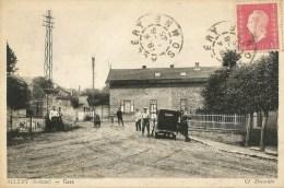 ALLERY  (80.Somme)  La Gare - France