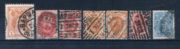 Russland Mit Versch. Stempeln Warschau, D4130 - ....-1919 Übergangsregierung