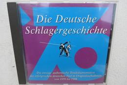"""CD """"Die Deutsche Schlagergeschichte 1976"""" Authentische Tondokumentation Erfolgreicher Dtsch. Titel Im Original 1959-1988 - Musik & Instrumente"""