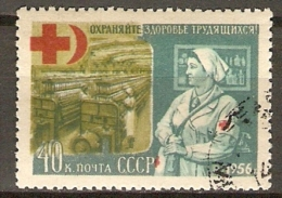 RUSSIE  /  URSS   -   CROIX - ROUGE  -  Oblitéré - Rotes Kreuz