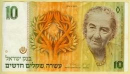 Israel 10 New Sheqalim 1992 Golda Meir Bon état - Israel