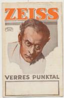 Advert Carl Zeiss Jena Verres Punktal  Pub Verres Lunettes Glasses - Jena