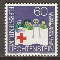 LIECHTENSTEIN   -   CROIX - ROUGE   -    Neuf  ** - Rotes Kreuz