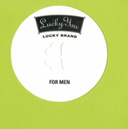 Cartes Parfumées  Carte  LUCKY YOU LUCKY BRAND FOR MEN - Modern (from 1961)