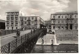 TARANTO-PONTE GIREVOLE-VIA ARCHITA-VESPA-1953 - Taranto