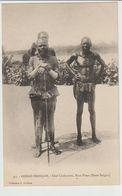 12-Congo Francese-Usi-Costumi-Folklore-Un Capo Tribù-Storia Postale 1c.+coppia 2c. - Congo Francese - Altri
