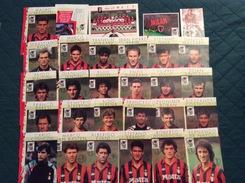 Lotto Materiale Milan Con Francobollo Campione D'Italia 1992-93 Annullato Primo Giorno Di Emissione - Equipos Famosos
