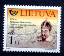 LITUANIE LIETUVA 2002, HISTOIRE POSTALE, 1 Valeur, Neuf / Mint. R992 - Litauen