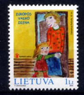 LITUANIE LIETUVA 2002, JOURNEE DE L´ENFANT, 1 Valeur, Neuf / Mint. R994 - Litauen