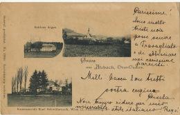 Gruss Aus Atzbach  Schloss Aigen  No 17680  Used To Travagliato Brescia From Schwanenstadt 1898 Edit Karl Schwidernoch - Autriche
