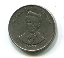 1995 Haiti 5 Centimes Coin - Haïti