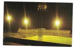 Cheney Stadium Baseball Park  At Night Tacoma Washington, C1960s Vintage  Postcard - Baseball