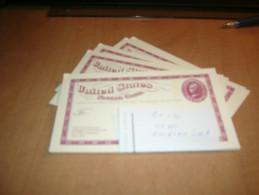 USA Stamped Postal Card--UX56--unused--lot Of 10