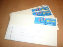 USA Stamped Postal Card--UX56--ADDRESSED--lot Of 10