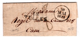 18 / TULLES S / L Datée + Dateur A 30 Mai 1828 - 1801-1848: Precursori XIX