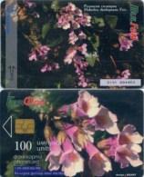 Telefonkarte Bulgarien - BulFon - Blumen,flowers - 100 Units - 06/98 - Aufl. 130000 - Bulgarien