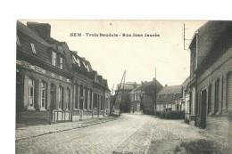 HEM - TROIS BAUDETS - RUE JEAN JAURES - Andere Gemeenten