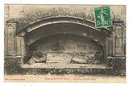 CPA 27 DAUBEUF Eglise Chevalier Du XIIIe Siecle - France
