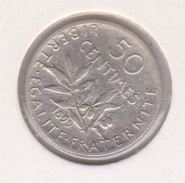 F190-5 50 CENTIMES SEMEUSE 1899 - G. 50 Centimes