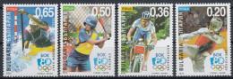 Bulgaria 2003 Olympic Games. Baseball, Mountain Biking, Taekwondo, Canoe Slalom. Mi 4615-4618 MNH - Mountain Bike