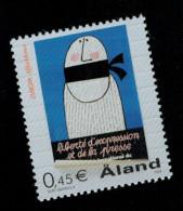 "Aland 2003 Europa Cept ""L'arte Del Manifesto""  1v Complete Set ** MNH - Aland"