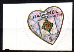 1/ France Variete Coeur Chanel Piquage à Cheval : N° 38  Neuf  XX MNH  , Cote : 200,00 € - Variétés Et Curiosités