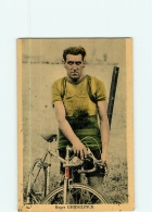 CYCLISME - Roger GHIJSELINCK - Carte Découpée - En L' état - 2 Scans - Cyclisme